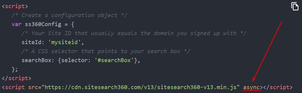 async/defer attribute location in the code
